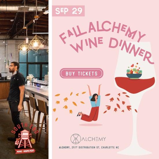 Fall Alchemy Wine Dinner