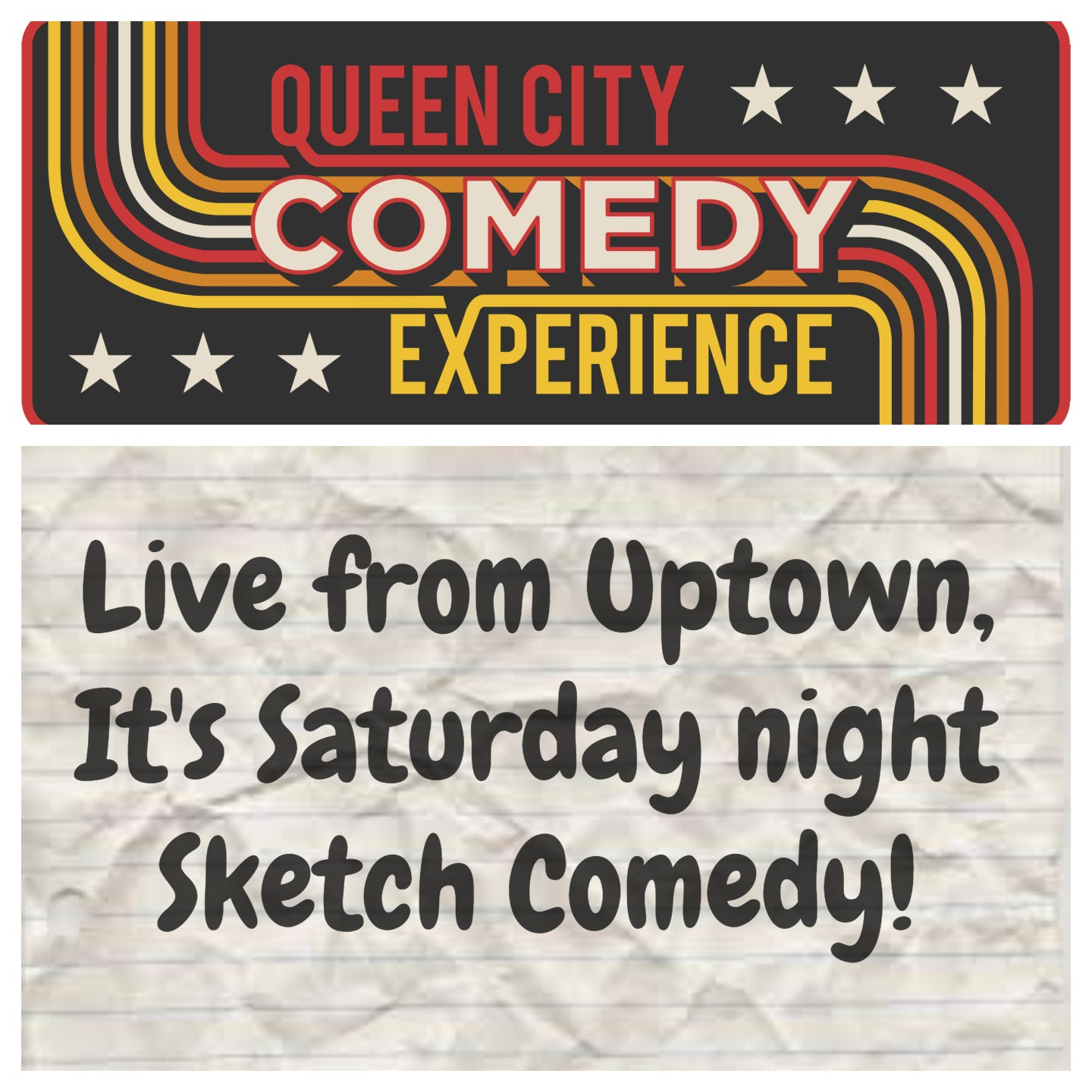 Live from Uptown, It's Saturday Night Sketch Comedy: Unstoppable Failure, Neighborhood Watch and Robot Johnson