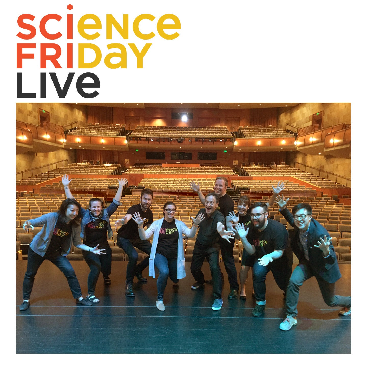 Science Friday LIVE! with Ira Flatow