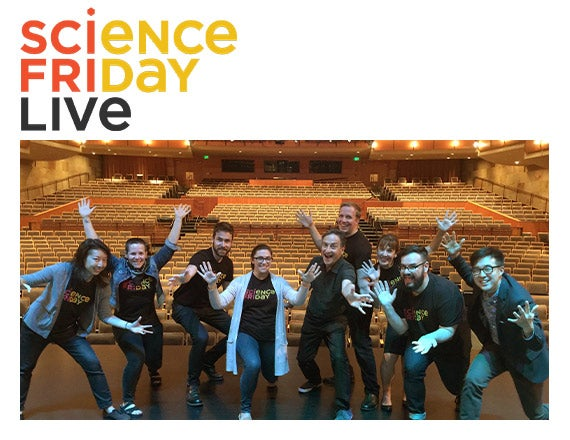 More Info for Science Friday LIVE! with Ira Flatow