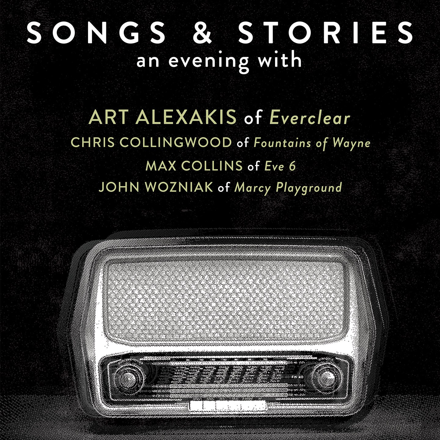 Songs and Stories: An Evening with Art Alexakis and More
