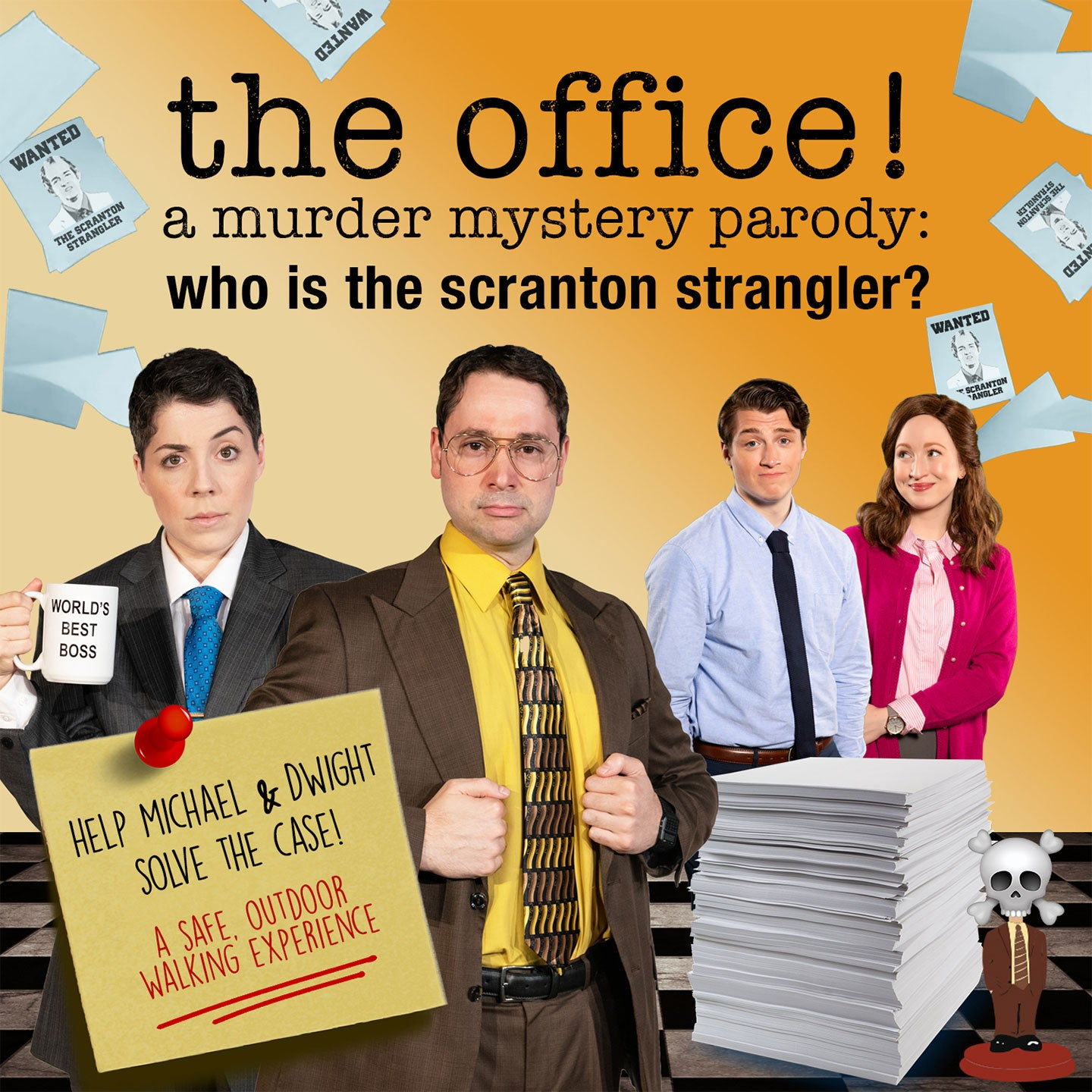 The Office! A Murder Mystery Parody: Who is the Scranton Strangler?