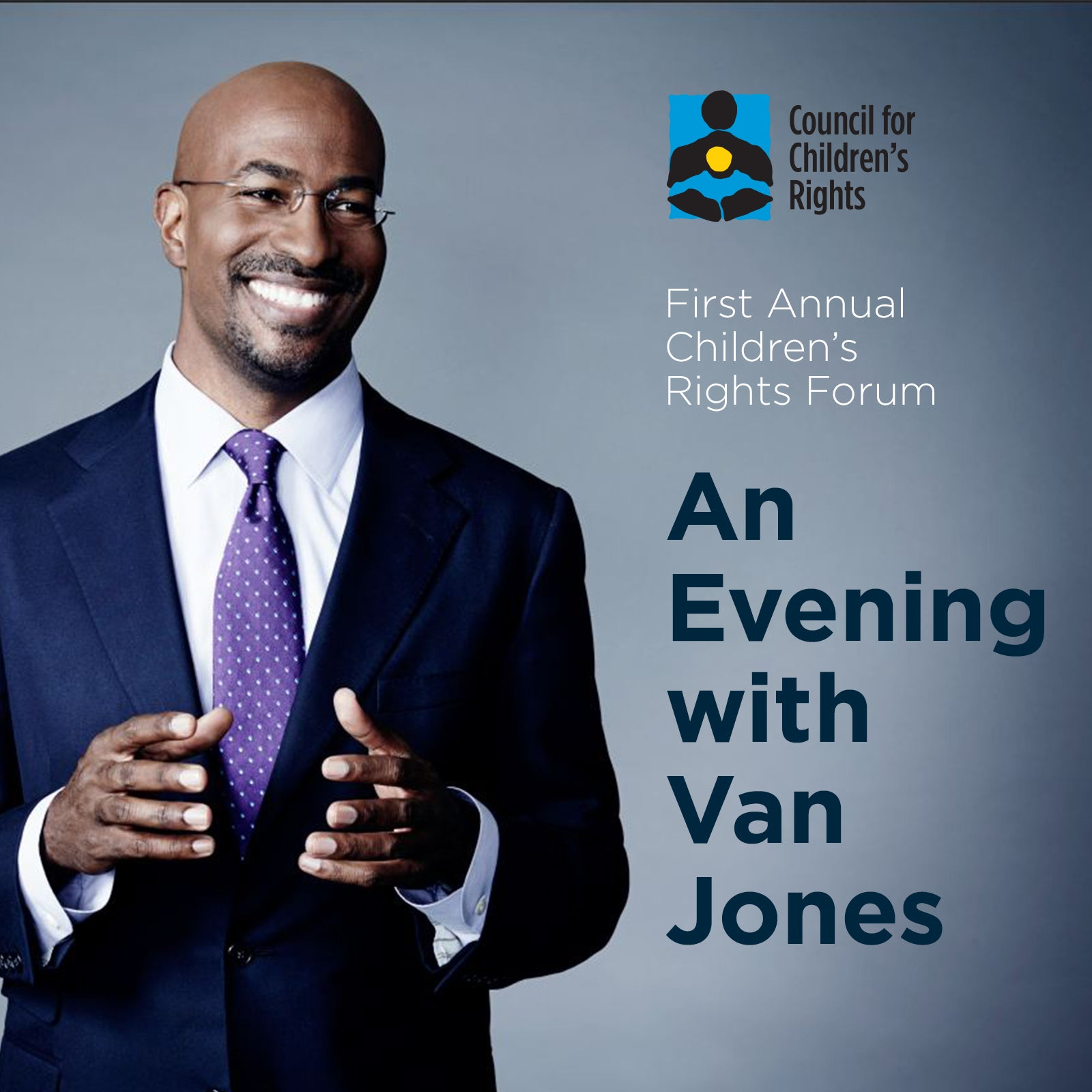 Children's Rights Forum: An Evening with Van Jones