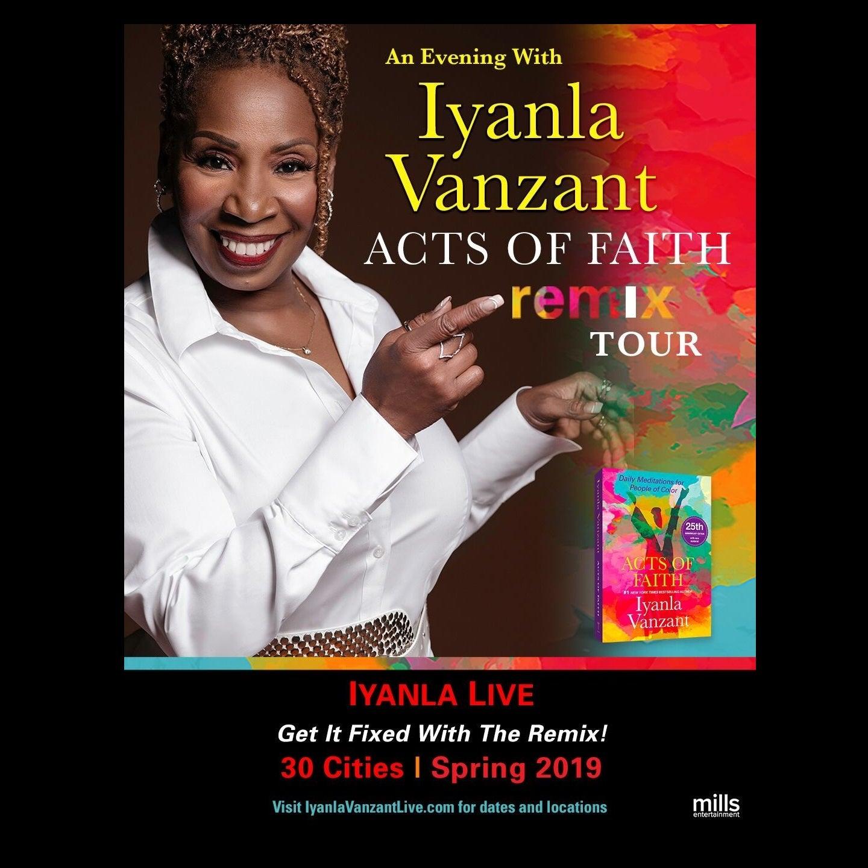 Iyanla Vanzant: Acts of Faith Remix Tour