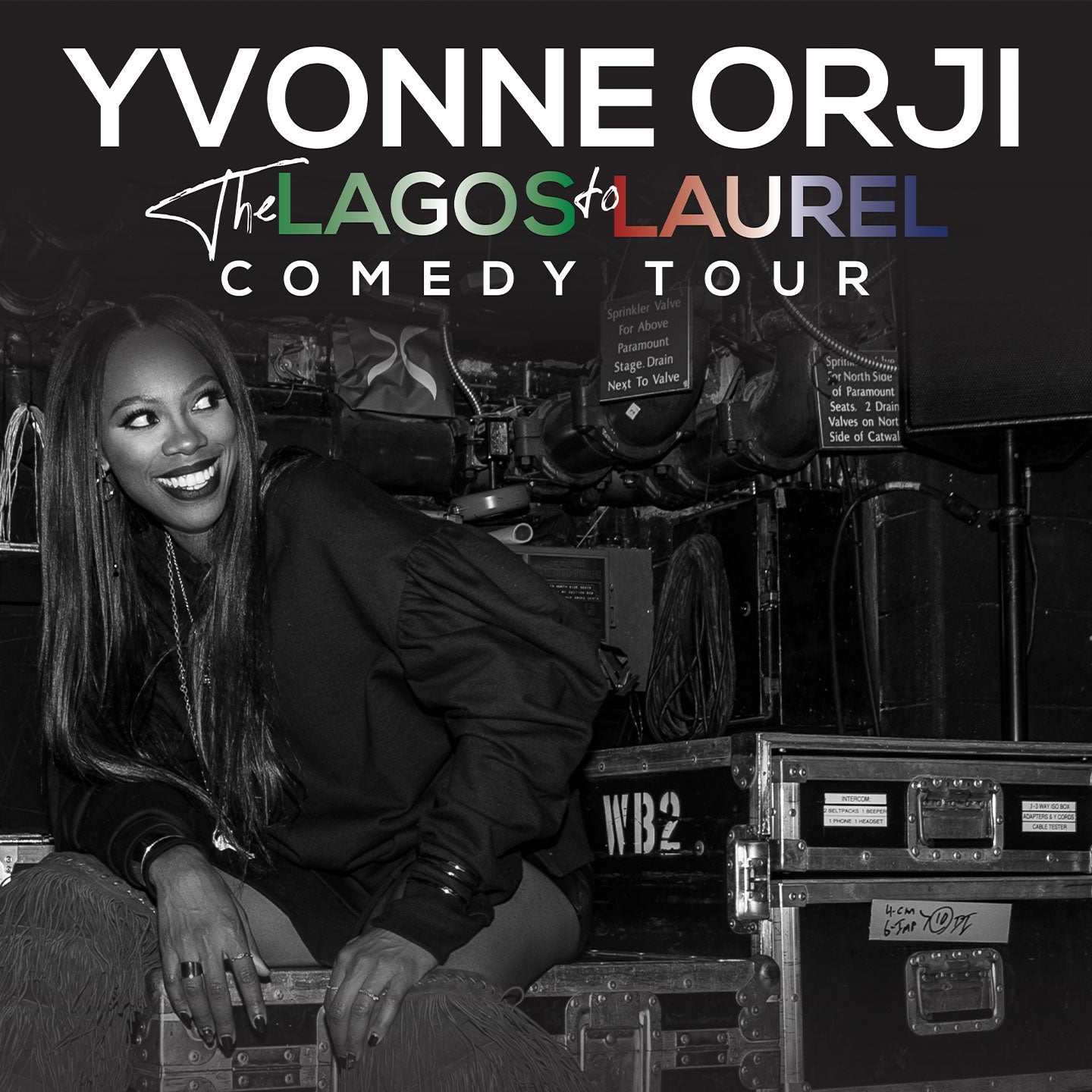 Yvonne Orji: Lagos to Laurel Tour