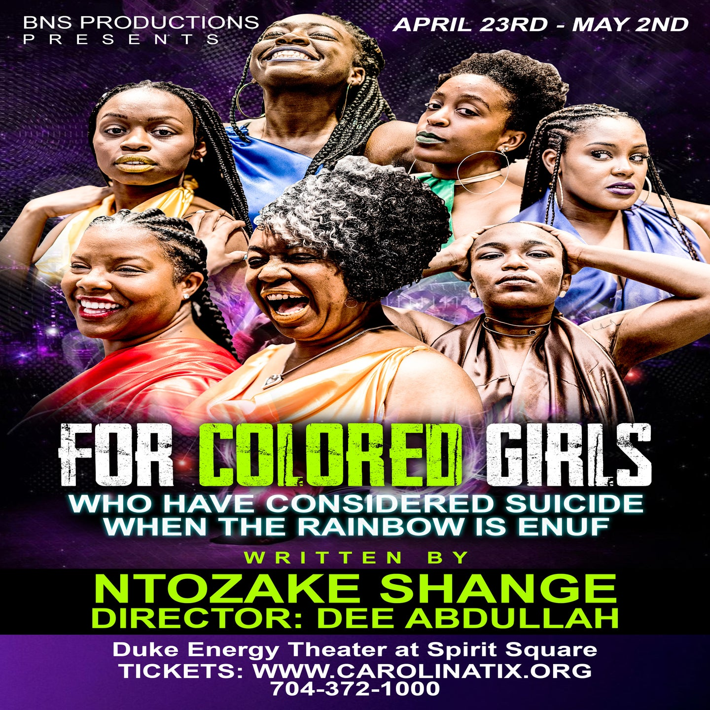 For Colored Girls Who Considered Suicide When The Rainbow Is Enuf