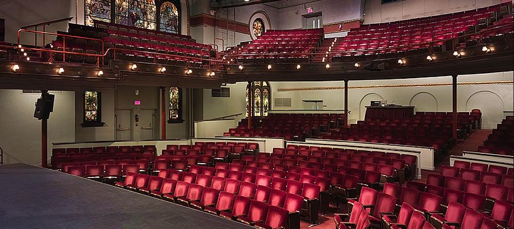 Mcglohon Theater At Spirit Square Blumenthal Performing Arts