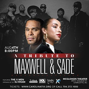 A Tribute to the Music of Maxwell & Sade