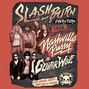 Nashville Pussy + Guitar Wolf