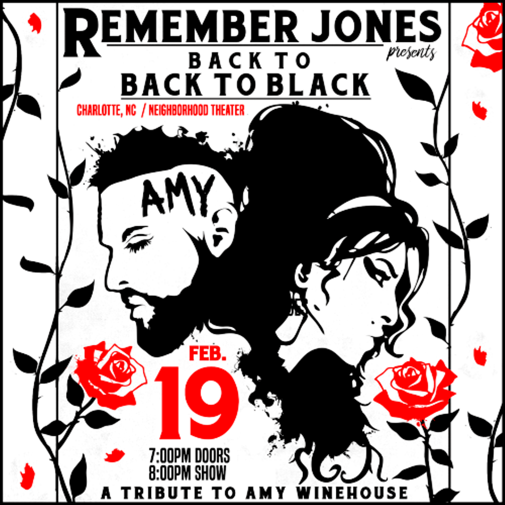 back to BACK TO BLACK: Amy Winehouse Tribute