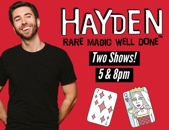 More Info for Hayden: Rare Magic, Well Done!