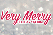 """More Info for """"Very Merry Holiday Special"""" On Sale Now Through Jan. 1"""